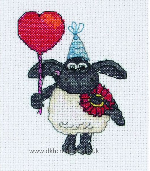 Timmy Time Timmy With Love Cross Stitch Kit